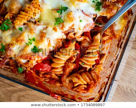 casserole with vegetable and beef Stock photo © M-studio