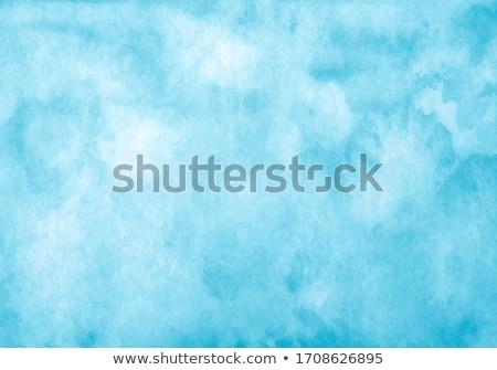 ストックフォト: カラフル · 塗料 · 広場 · 水彩画 · 紙 · セット