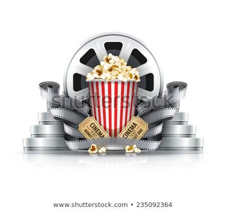 bioscoop · tickets · film · kunst · industrie · film - stockfoto © loopall