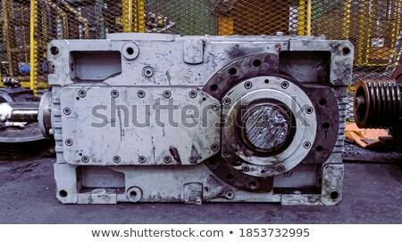 uitrusting · onderhoud · metaal · versnellingen · mechanisme · dienst - stockfoto © tashatuvango