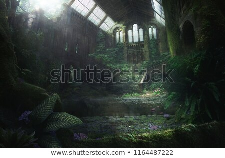abandoned church stock photo © mpetersheim