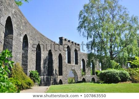 Wieża Szkocji ogród architektury Zdjęcia stock © Julietphotography