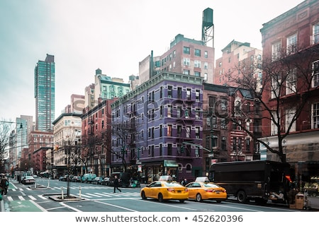 West kant vallen foto Central Park hemel Stockfoto © rmbarricarte