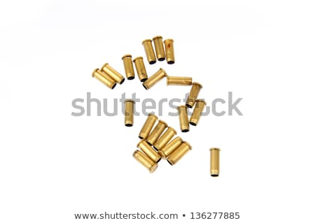 isolated ammunition empty shell case Stock photo © taviphoto
