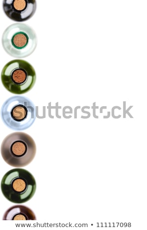 vinho · cortiça · coleção · branco - foto stock © bigalbaloo