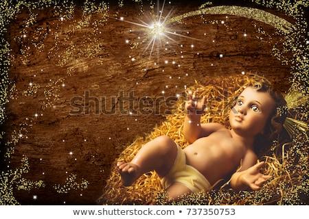 famiglia · rustico · scena · bambino · Gesù - foto d'archivio © marimorena