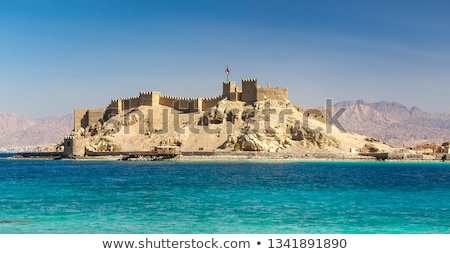 Island of pharaohs in Taba Stock photo © Givaga