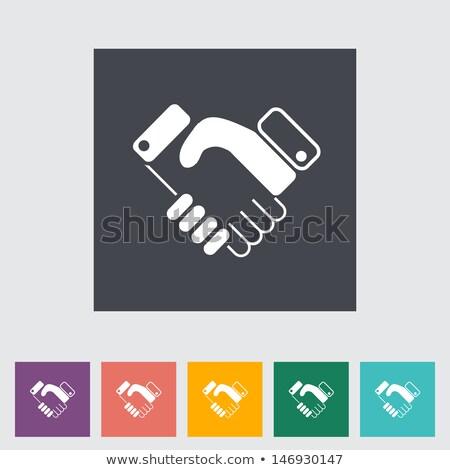 Stringe la mano squadra di affari business mano imprenditore stretta di mano Foto d'archivio © Paha_L