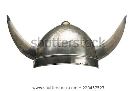 viking hat, helmet Stock photo © shutswis