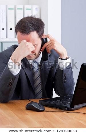 悪い知らせ コンピューターのマウス ストックフォト © devon