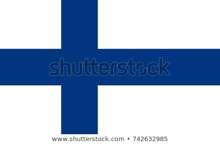National flag of Finland with correct proportions, element, colors Stock photo © tkacchuk