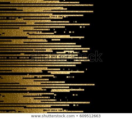 золото · силуэта · черный · здании · Skyline · архитектура - Сток-фото © smeagorl