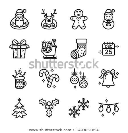 Set of Christmas icons - Clipart collection  Stock photo © gigi_linquiet