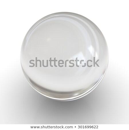 empty glass ball stock photo © zven0