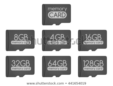 microsd memory cards set stock photo © pakete