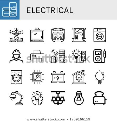 électriques · grille-pain · deux · pain · tranches - photo stock © magraphics