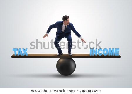 Magas adó kihívás üzlet adózás légy Stock fotó © Lightsource