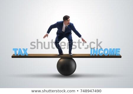High Tax Challenge Stock photo © Lightsource