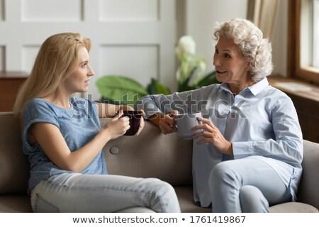 母親 · 子 · 品質 · 時間 · 一緒に · 家族 - ストックフォト © kentoh