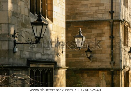 Tradicional lámpara luz oxford pasado de moda nuevos Foto stock © chrisdorney