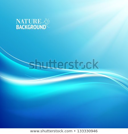 clean white rays in curved style Stock photo © SArts