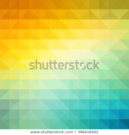 abstract geometric background with orange blue and yellow color summer sunny design stock photo © fresh_5265954