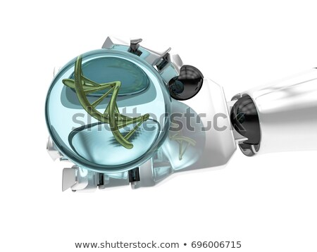 механический руки мяча ДНК цепь Сток-фото © user_11870380