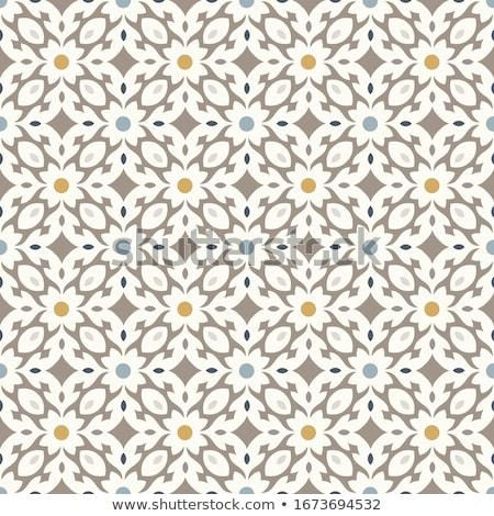 タイル パターン シームレス ベクトル デザイン 幾何学的な ストックフォト © RedKoala