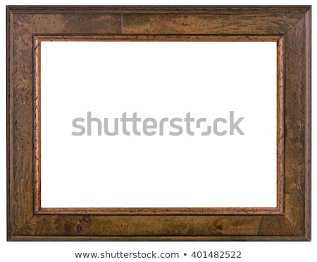 Old Wooden Frame Cutout Stock photo © Suljo