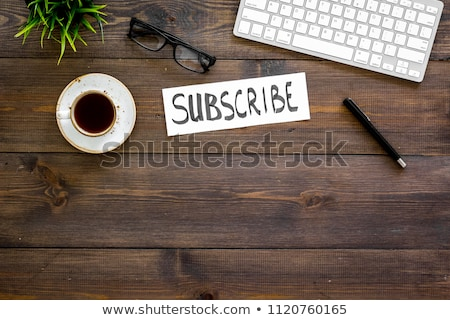form of email subscribe, newsletter Stock photo © barsrsind
