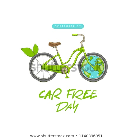22 világ autó szabad nap naptár Stock fotó © Olena