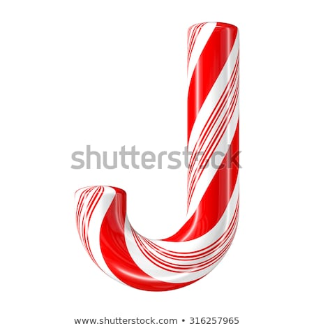 letter j candies stock photo © olena
