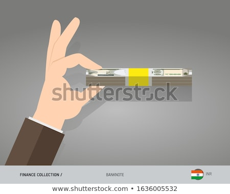 hands in flat style Stock photo © Olena