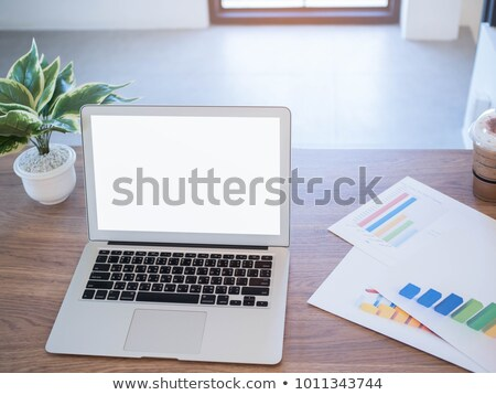 Business Mail Laptop Bildschirm 3D Stock foto © tashatuvango