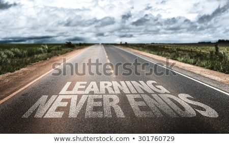 learning never ends Stock photo © nenovbrothers