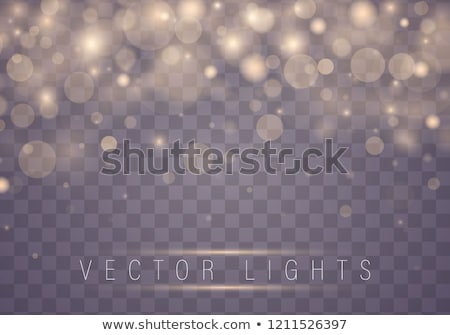 Golden abstract luxury bokeh background. Light effect gold sparks. Christmas blur concept. Vector Stock photo © Iaroslava