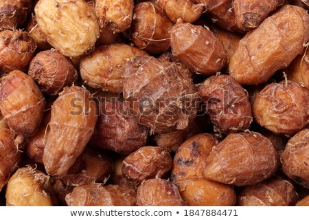 Food of the earth - raw almonds. stock photo © shutter5