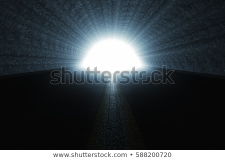 Photo stock: Tunnel End Light