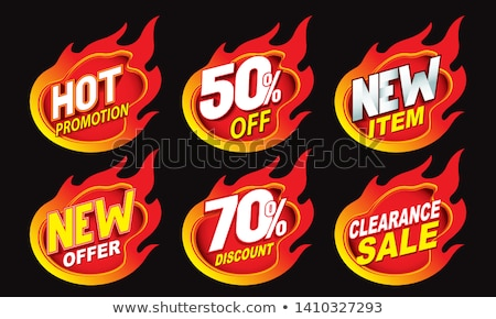 Shop Promotional Sale Items Stock photo © lenm