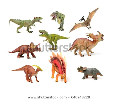 Apatosaurus dinosaur isolated. Ancient animal. Dino prehistoric  Stock photo © MaryValery