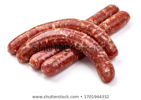 ruw · vlees · geïsoleerd · keuken · markt · koken - stockfoto © m-studio