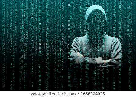 Hacking and Virus Attack Computer Code Background Stock photo © solarseven