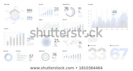 Grande dati strumenti app interfaccia modello Foto d'archivio © RAStudio