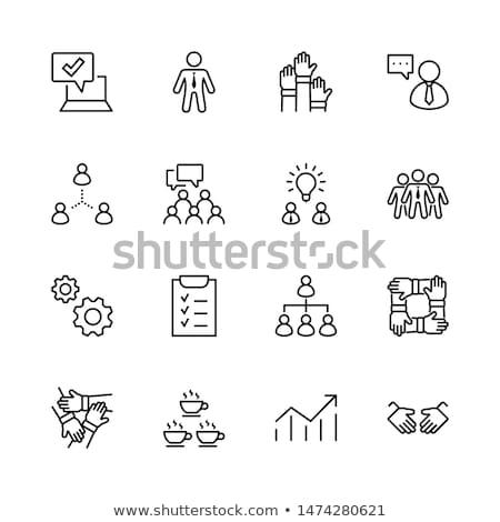 zestaw · kółko · koła · narzędzi · ikona · odizolowany - zdjęcia stock © robuart