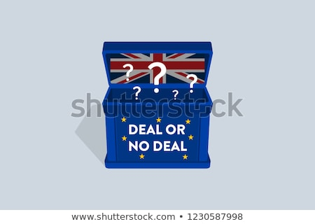 Brexit Deal Break Stock photo © Lightsource
