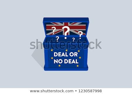 Reino · Unido · acuerdo · crisis · británico · político · incertidumbre - foto stock © lightsource