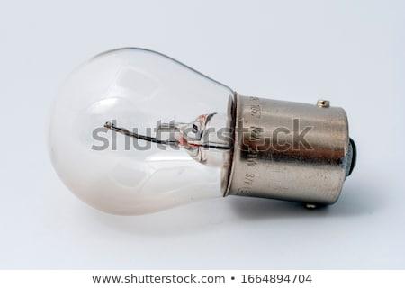 headlight of the main light of the white car, close-up. Stock photo © ruslanshramko