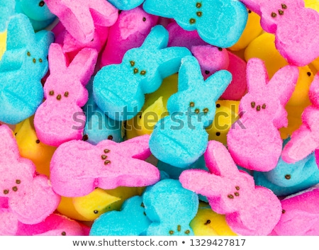Stock photo: Colorful easter candy