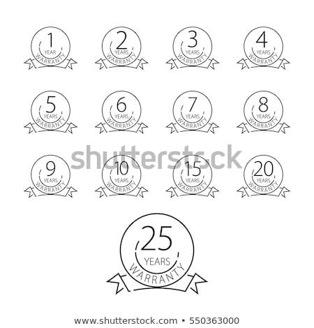 15 certidão ilustração assinar lei Foto stock © Blue_daemon