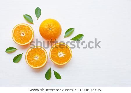Ananas sinaasappelen oranje realistisch restaurant eten Stockfoto © ConceptCafe